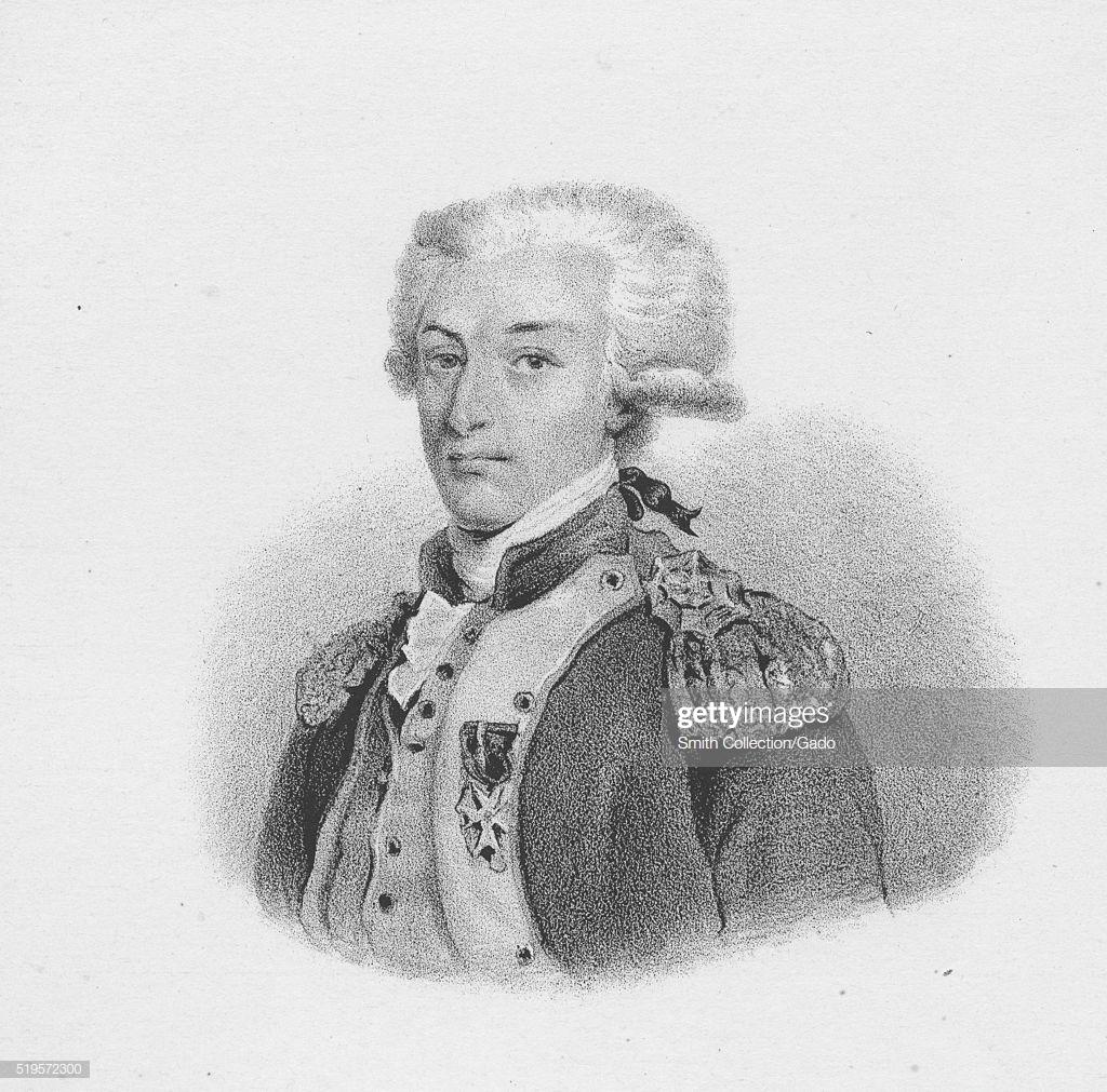 Engraved portrait of Gilbert du Motier Marquis de Lafayette a 1024x1011