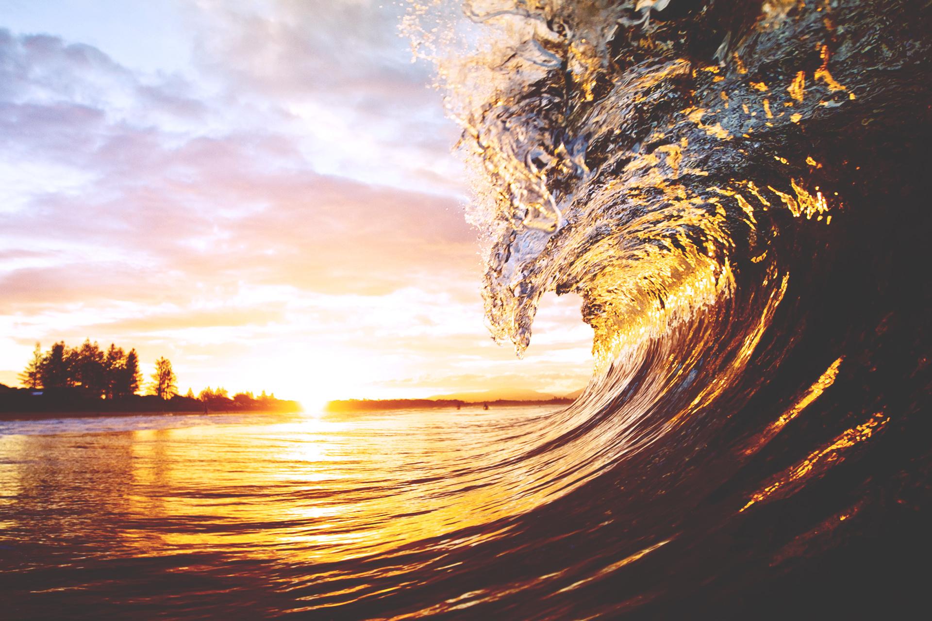 Beach Waves Wallpapers Wallpaper Hd 1920x1280