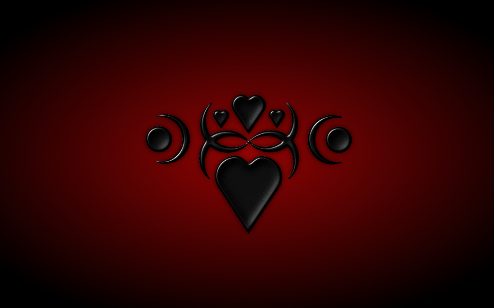 Free Download Black Heart Wallpaper Hd By Mystica 264