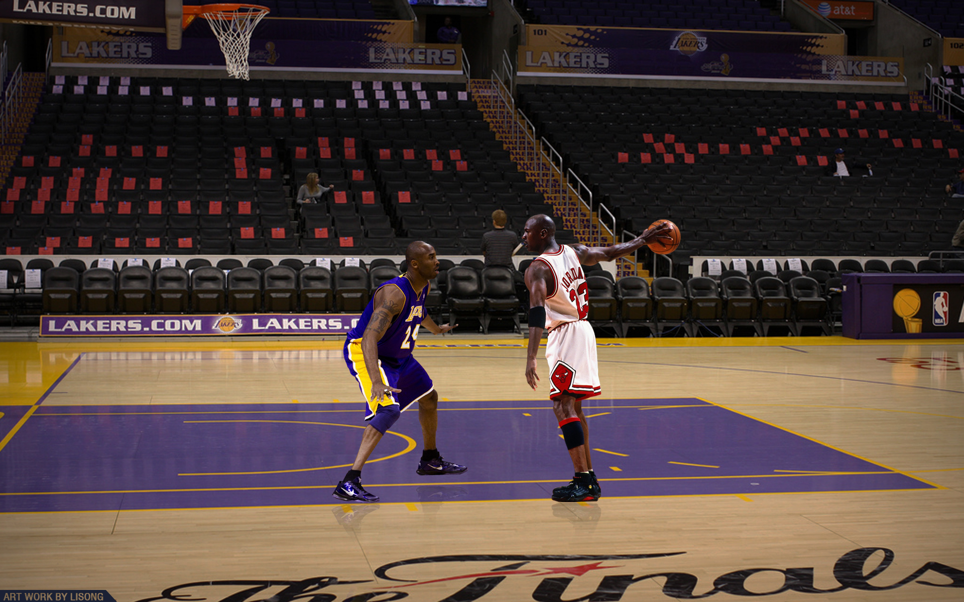 201205081kobe Bryant Vs Michael Jordan By Lisong24kobe D4q81cbjpg 1920x1200
