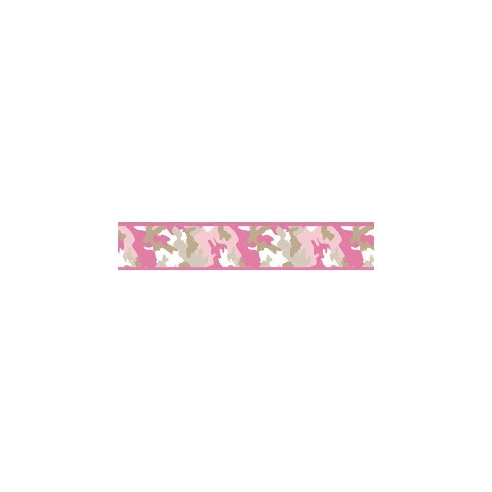 com Pink and Khaki Camo Wallpaper Border by JoJo Designs Beige Baby 960x960