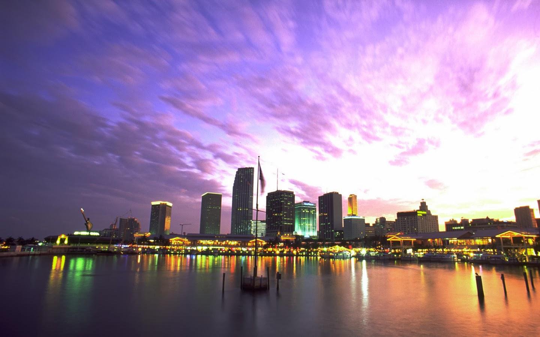 Miami Beach Desktop Wallpaper - WallpaperSafari