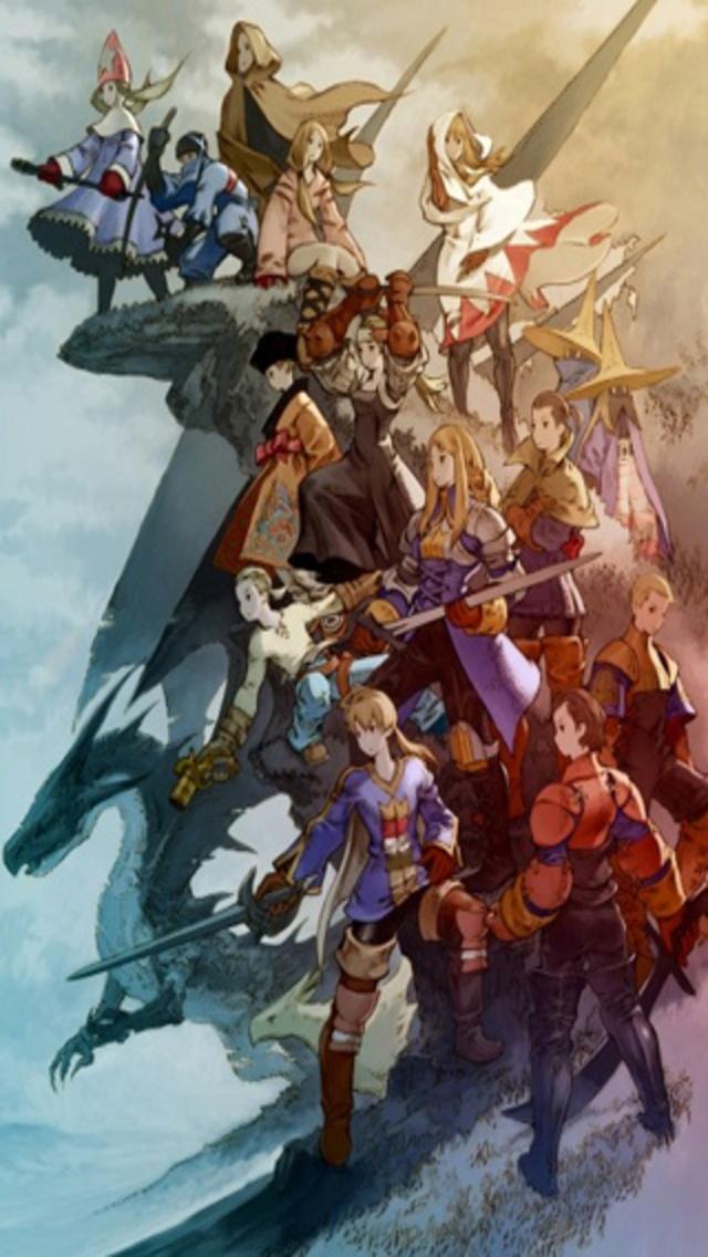 Final Fantasy Phone Wallpaper  WallpaperSafari