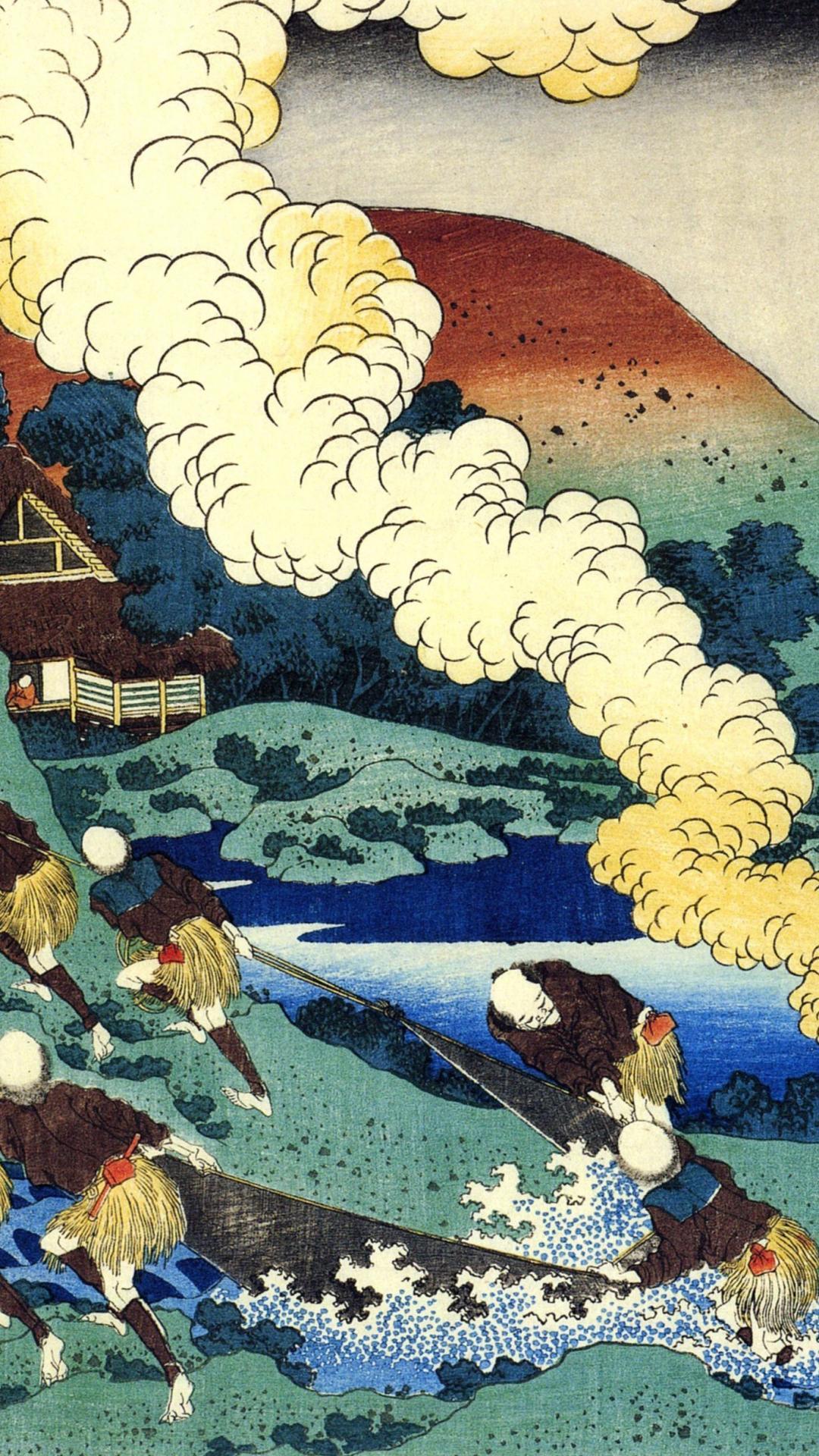 Hokusai Katsushika Wallpapers   Top Hokusai Katsushika 1080x1920