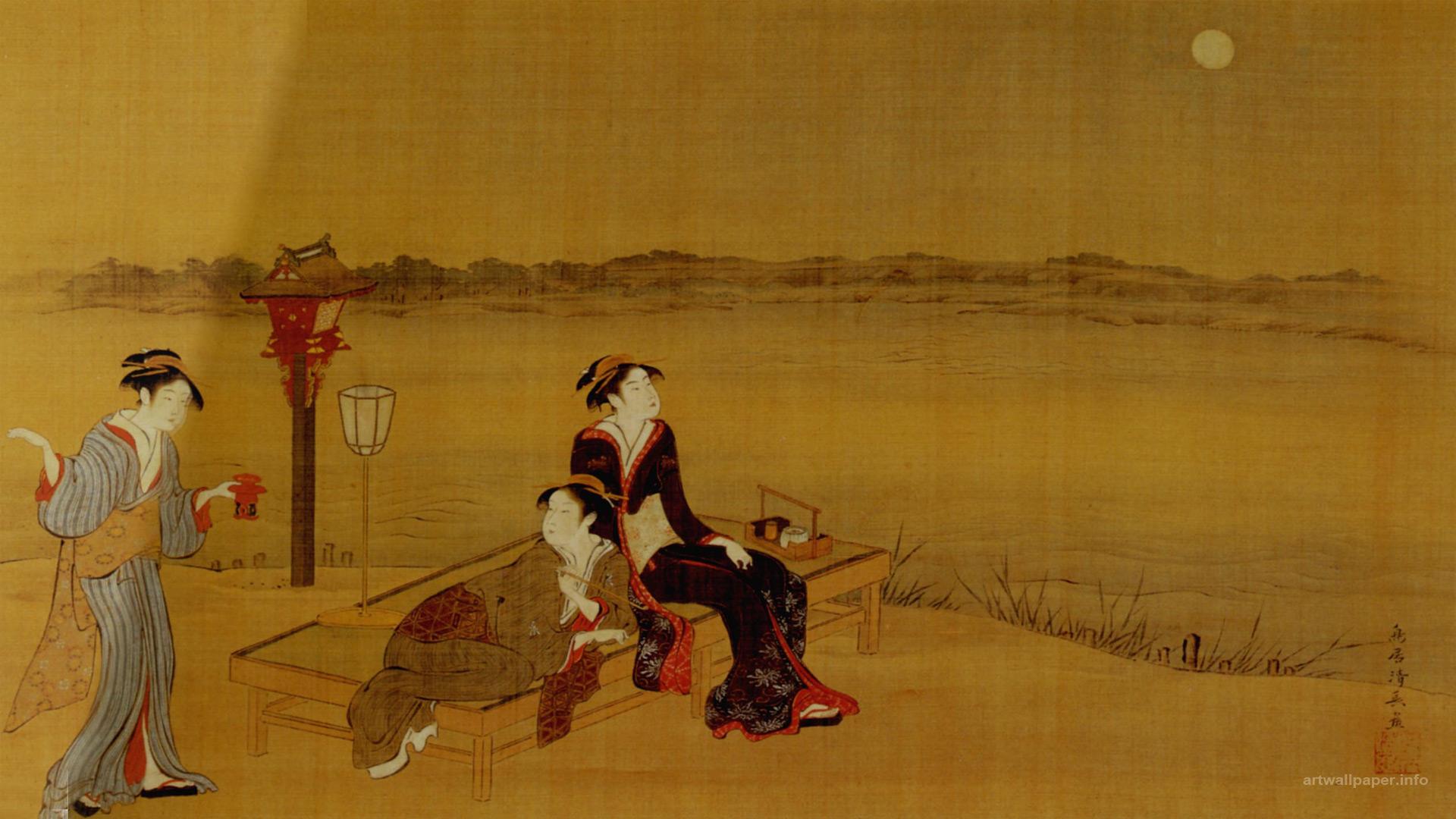 Japanese Art Wallpapers - WallpaperSafari