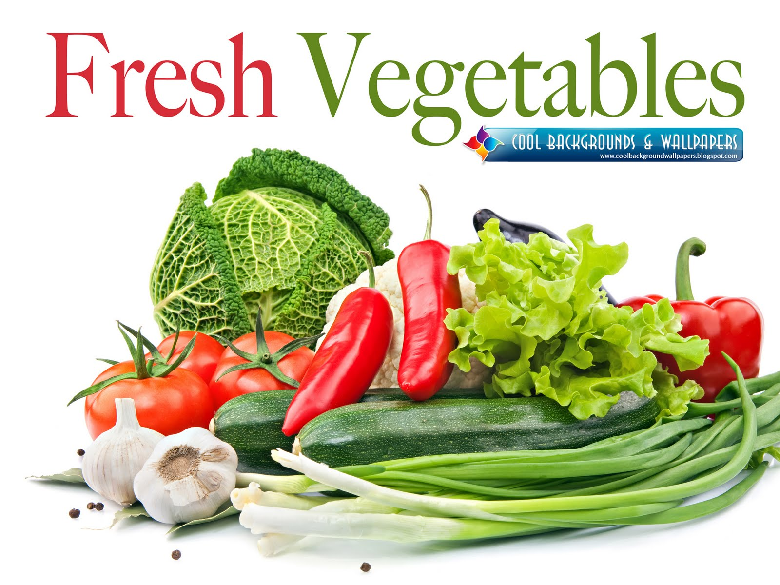 Cute Backgrounds and Wallpapers Fresh Vegetables HD Wallpapers 1600x1200
