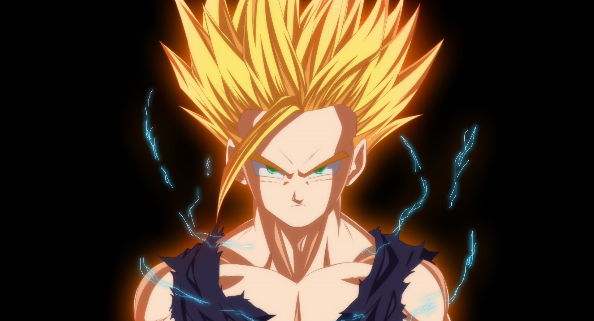 Dragon ball z gohan wallpapers wallpapersafari - Teen gohan wallpaper ...