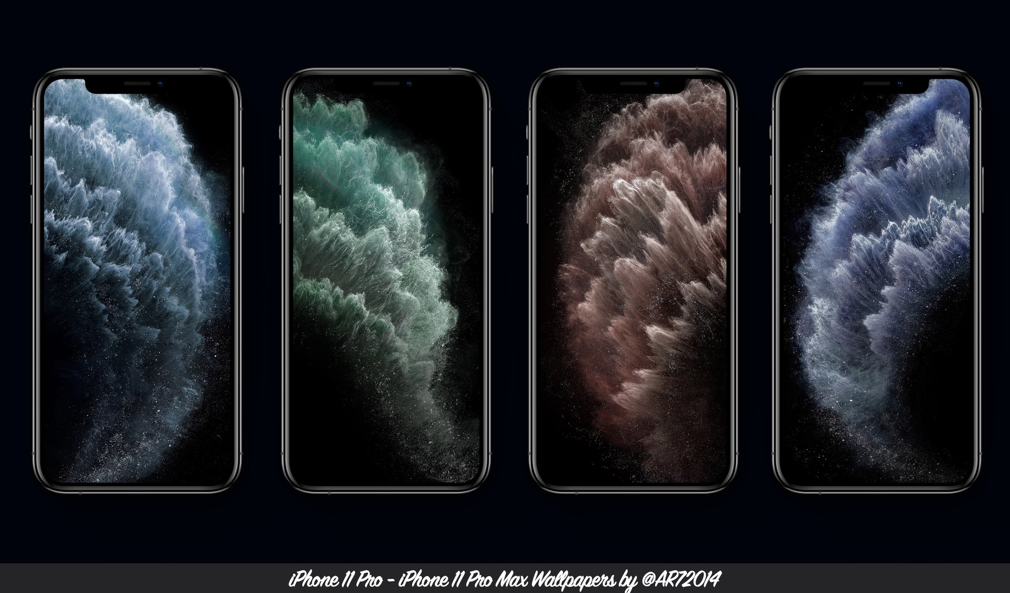 Download iPhone 11 and iPhone 11 Pro wallpapers 2048x1204