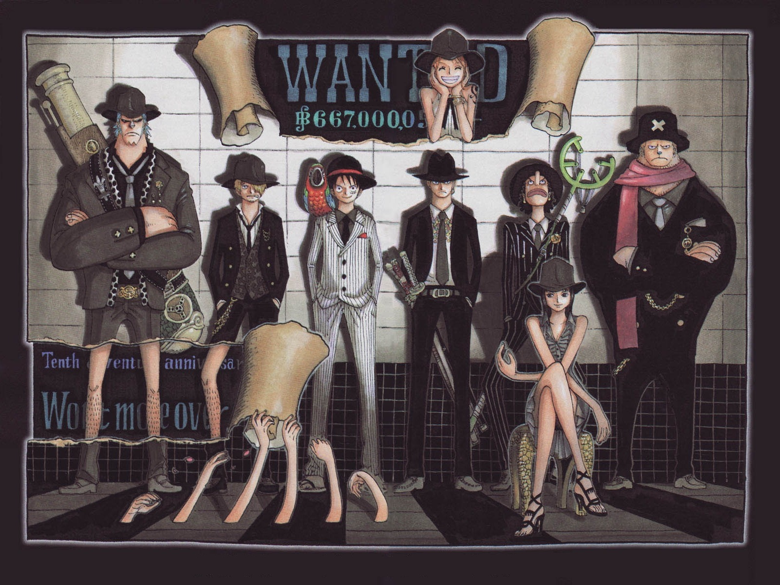 66 One Piece Wallpaper Wanted On Wallpapersafari