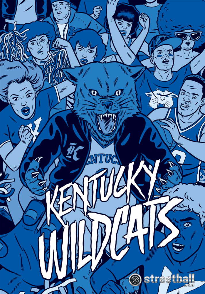 of Kentucky Wildcats iPhone Wallpaper 713x1024