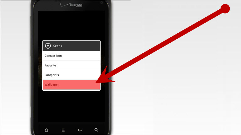 How to Download Wallpapers for a Verizon Wireless Phone: 3 Steps