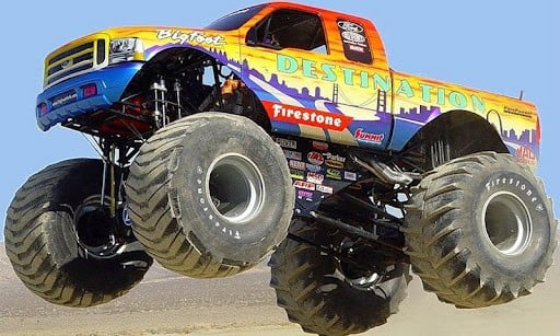 View bigger   Monster Truck HD wallpapers for Android screenshot 512x307