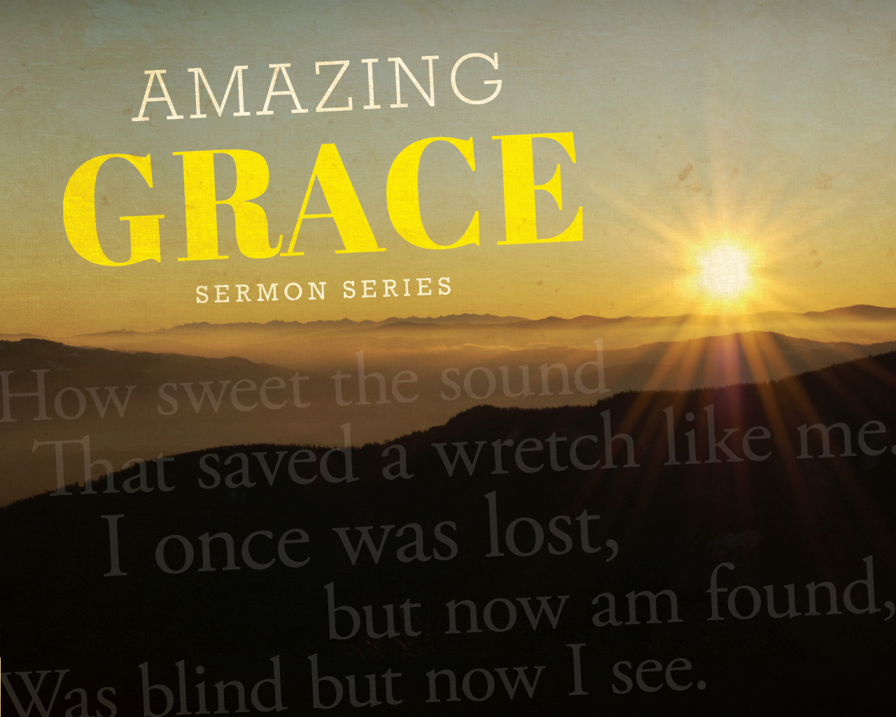 RIDGECREST BAPTIST CHURCH Amazing Grace Wallpaper 1280x1024