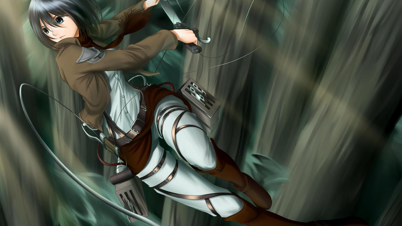 Attack on titan   130368   High Quality and Resolution Wallpapers 1366x768