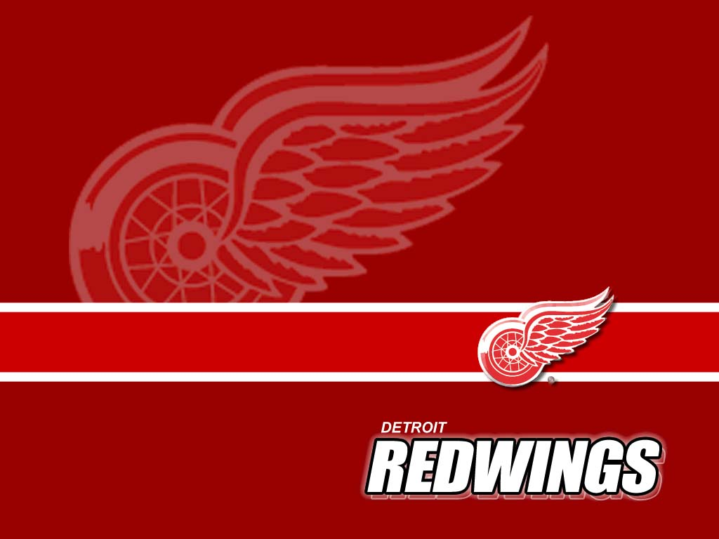 NHL Detroit Red Wings Logo Red wallpaper 2018 in Hockey 1024x768