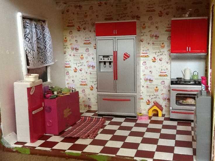 Barbie Dollhouse Wallp...