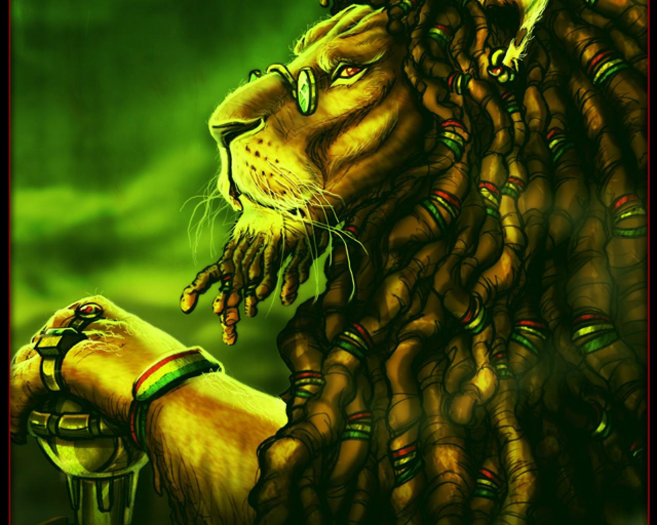 Trippy Rasta Lion 89017 Loadtve