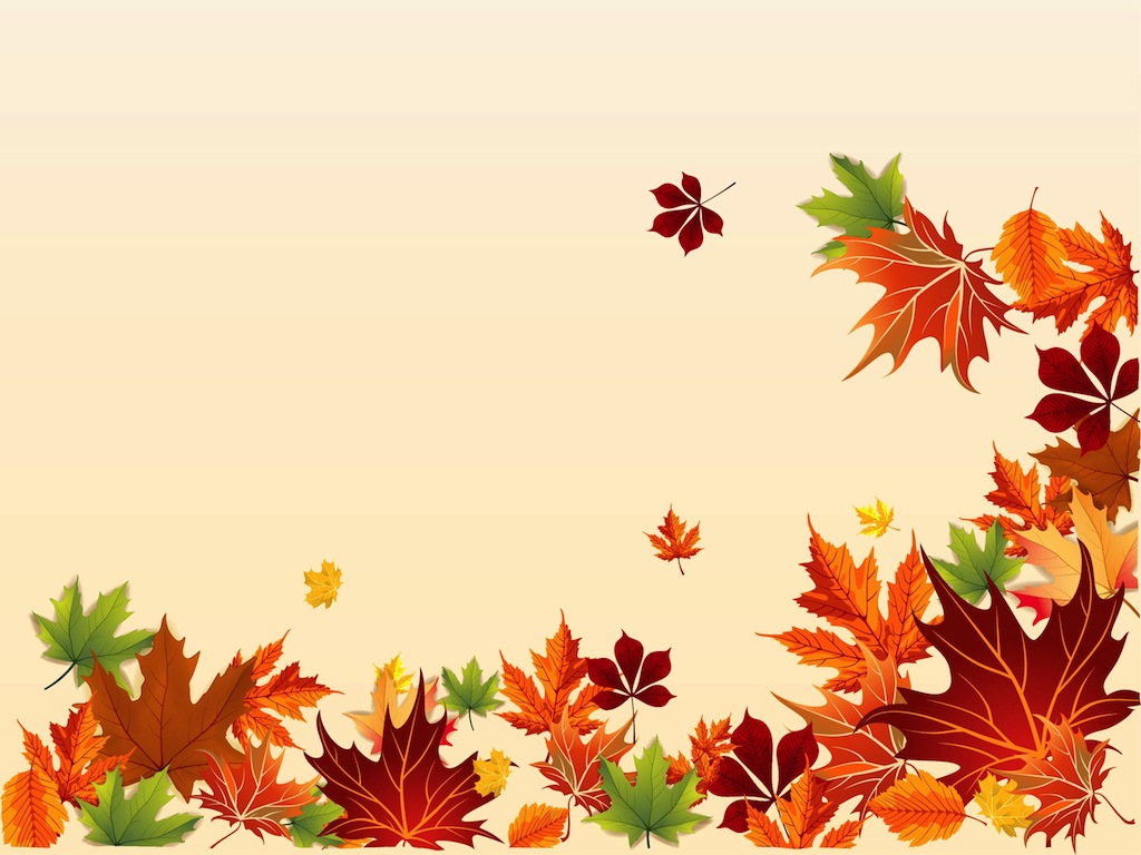 [39+] Fall Leaves Wallpaper Border On WallpaperSafari