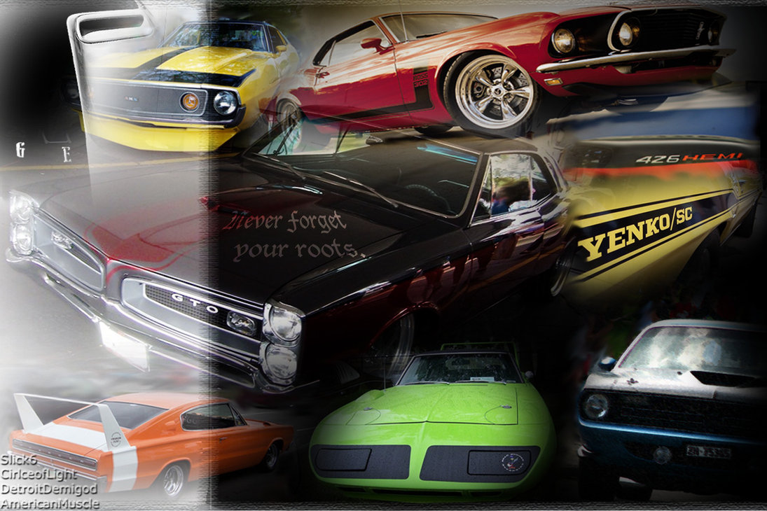 Image Result For Muscle Car Wallpaper Border