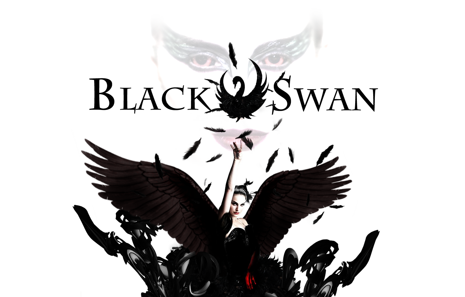 Black Swan Wallpaper   Official PSDs Forum 1600x1024