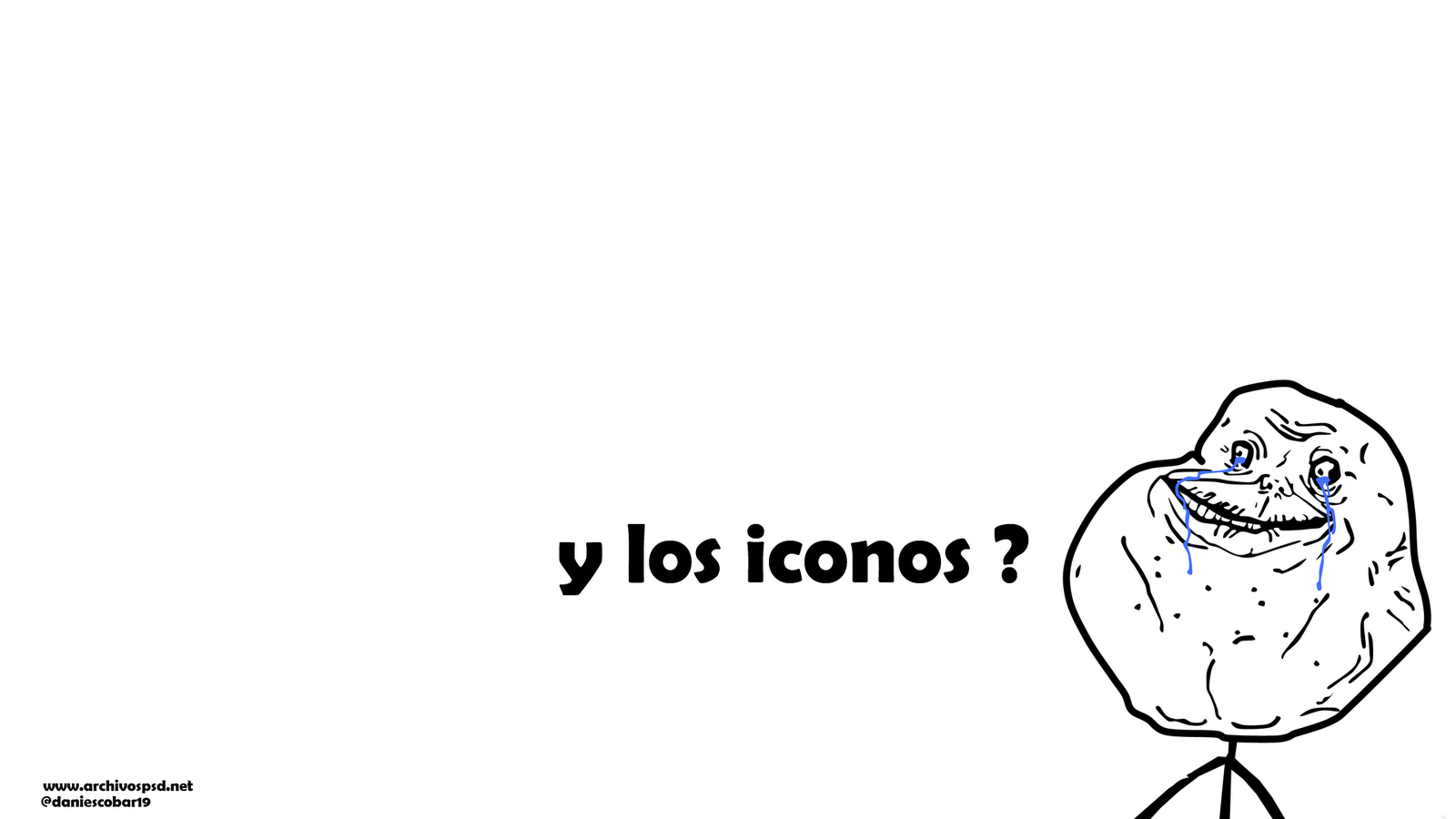 Meme Forever Alone Wallpaper   Descargar Wallpapers en HD 1600x900