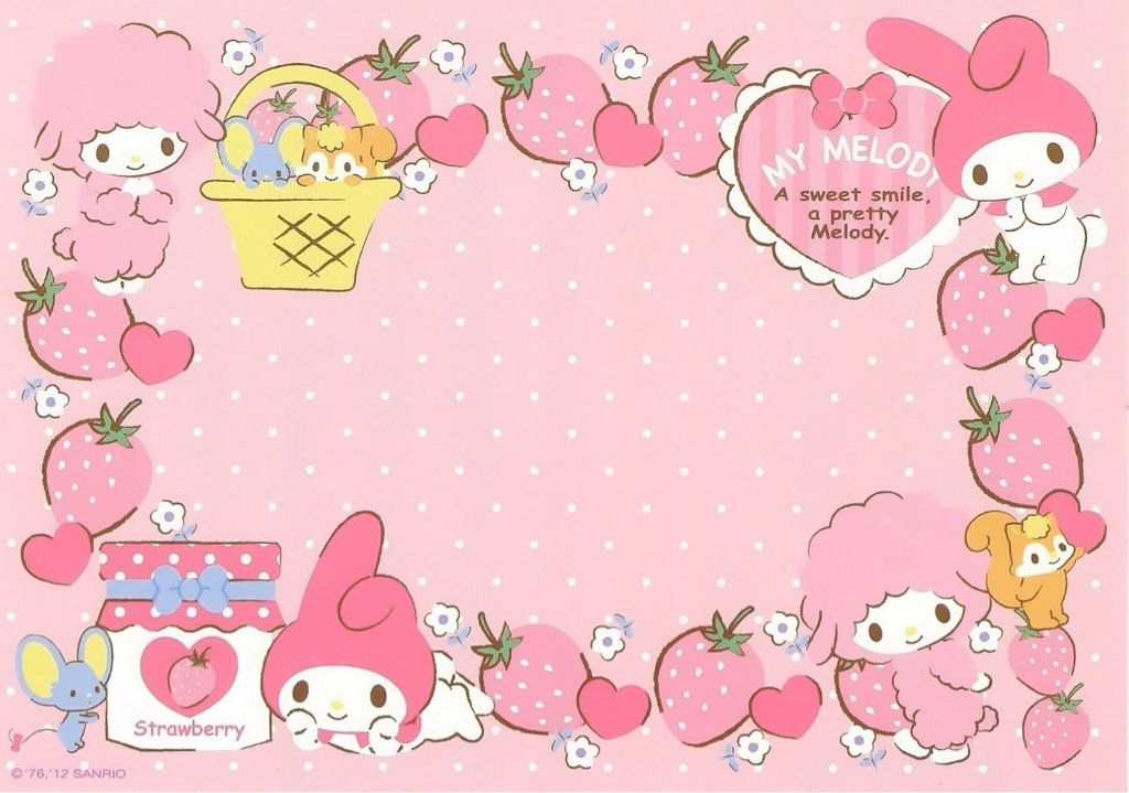 My Melody Wallpaper - WallpaperSafari
