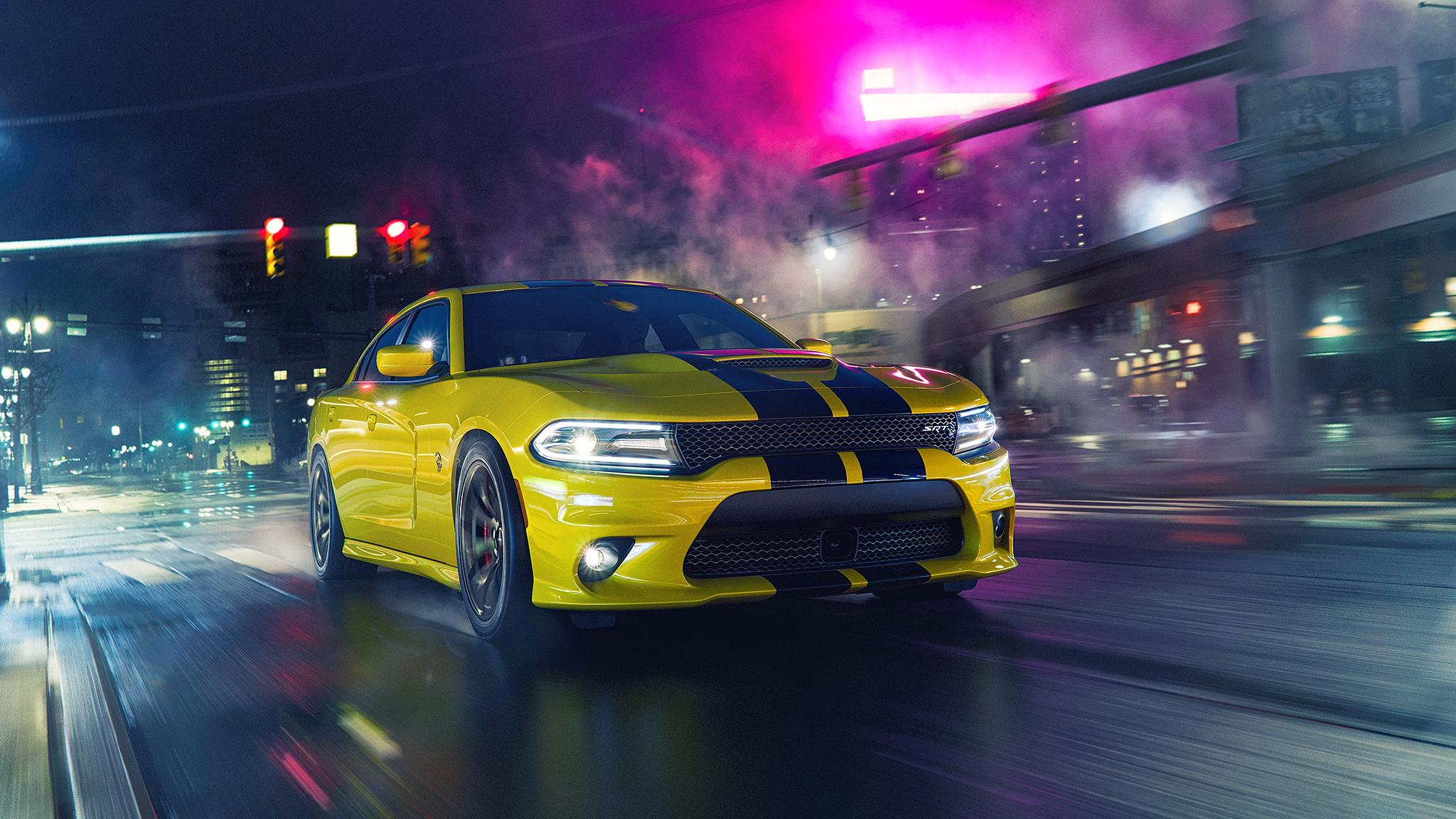 Dodge Charger Hellcat Wallpaper HD Car Wallpapers ID 10789 2048x1152