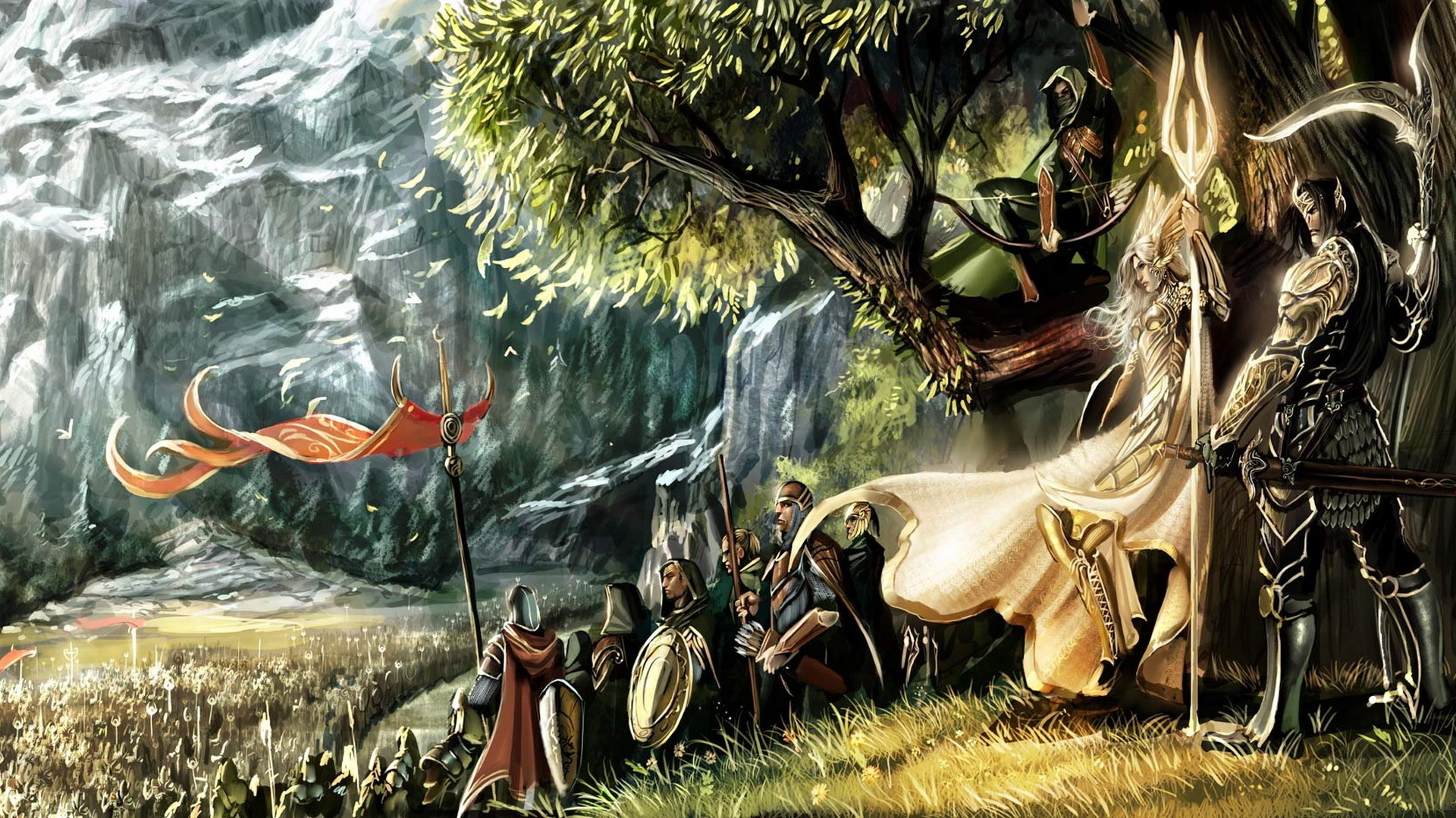 The Lord Wallpaper 1920x1080 The Lord Of The Rings Artwork 1920x1080