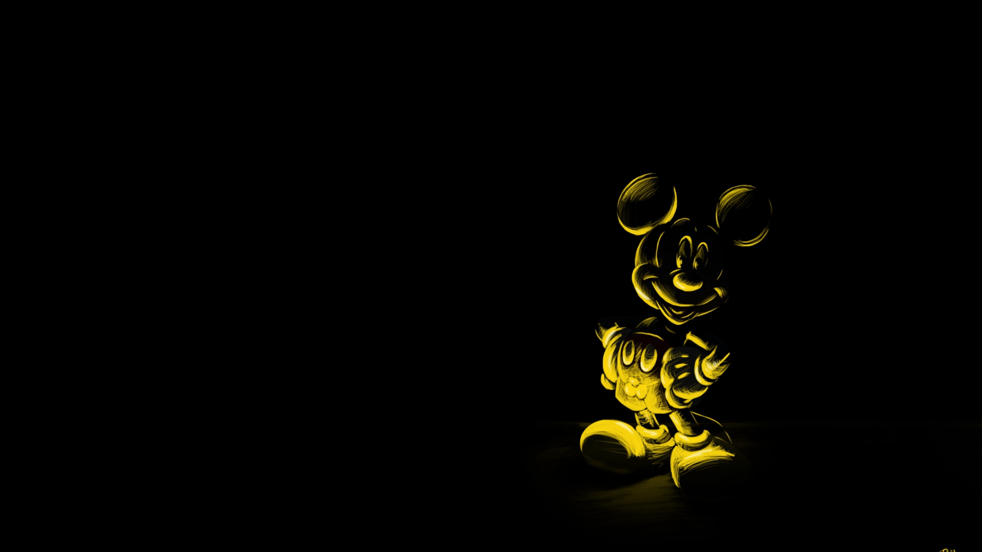 Character Mickey mouse Mouse Wallpaper Background Full HD 1080p 1920x1080