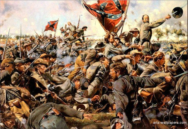 American Civil War Wallpaper American Civil War Art 736x508