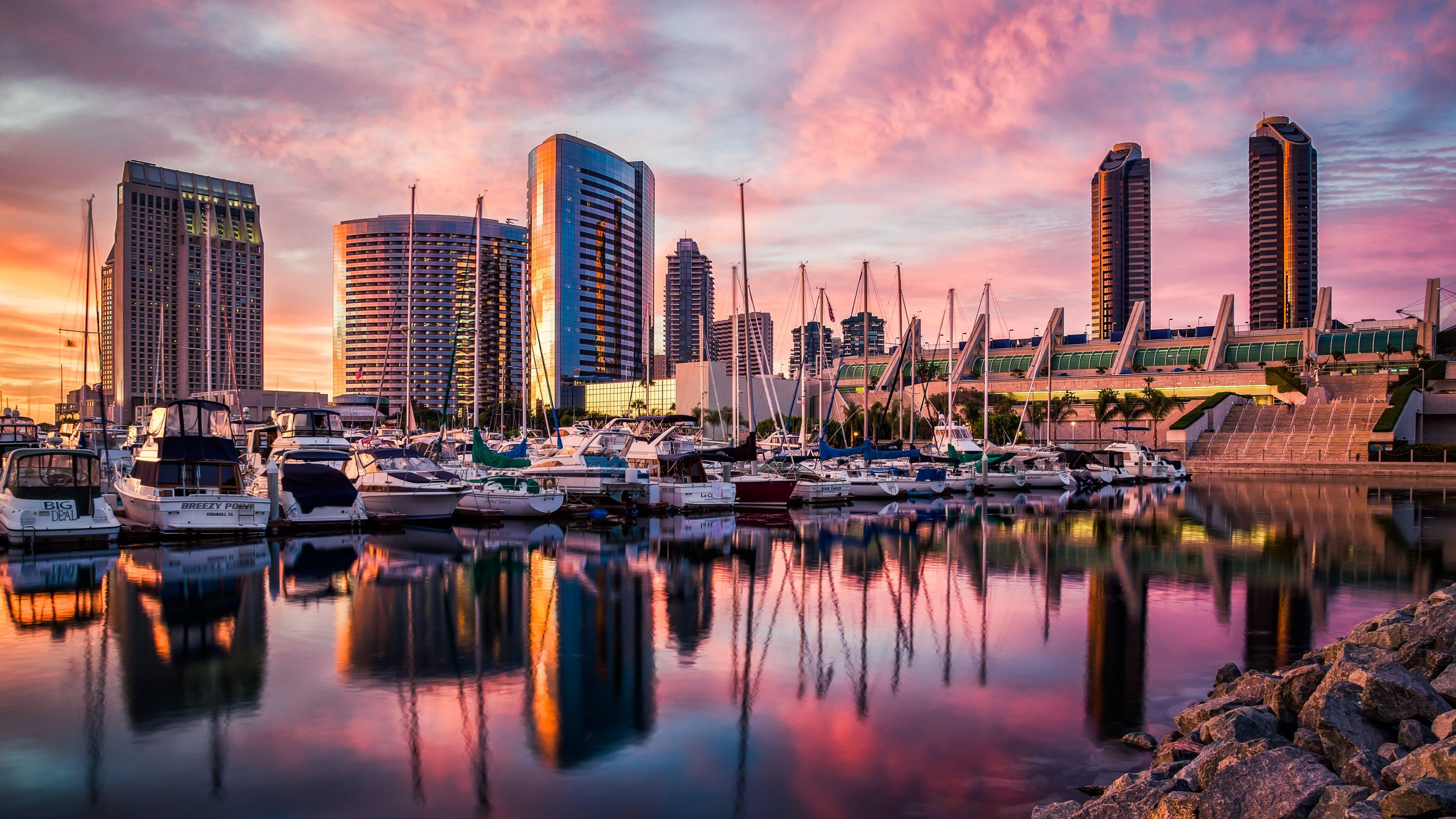 San Diego Sunset 3840x2160