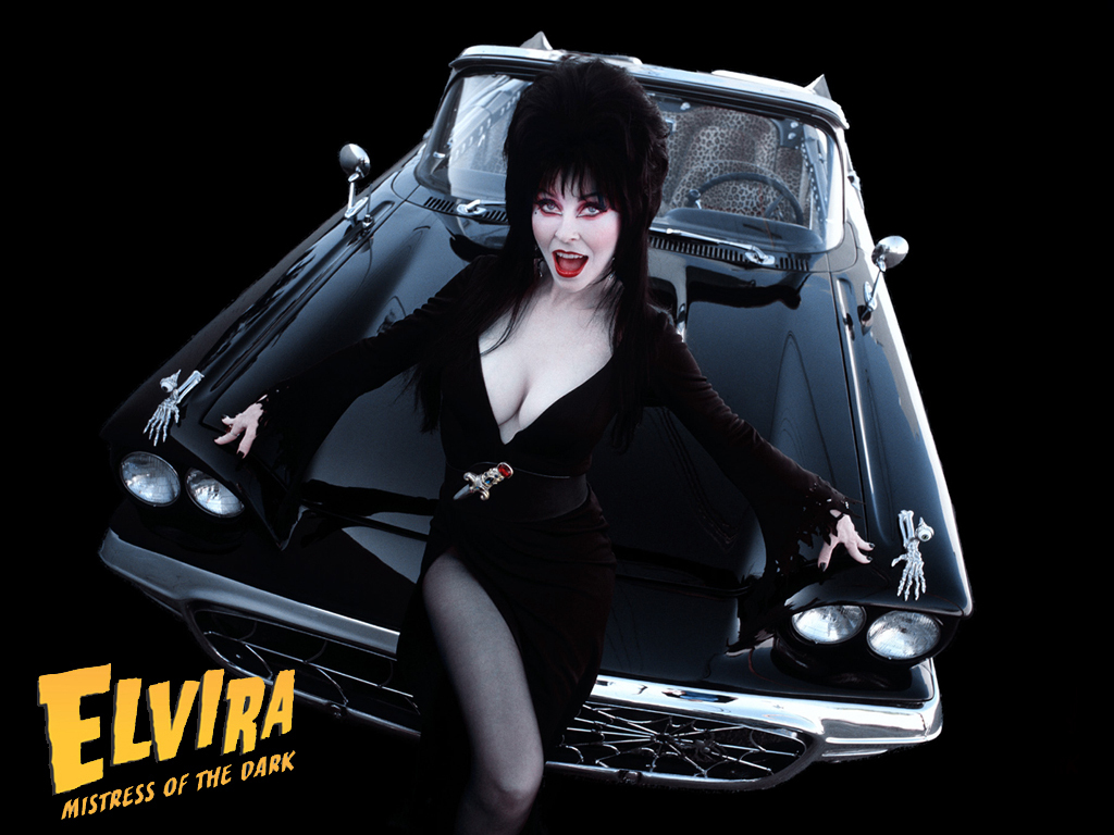 Elvira Elvira and her Macabre Mobile 1024x768