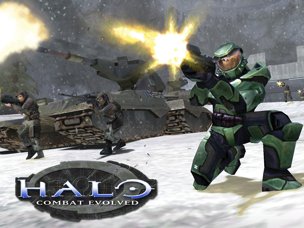 Halo Combat Evolved Wallpaper 1024x768