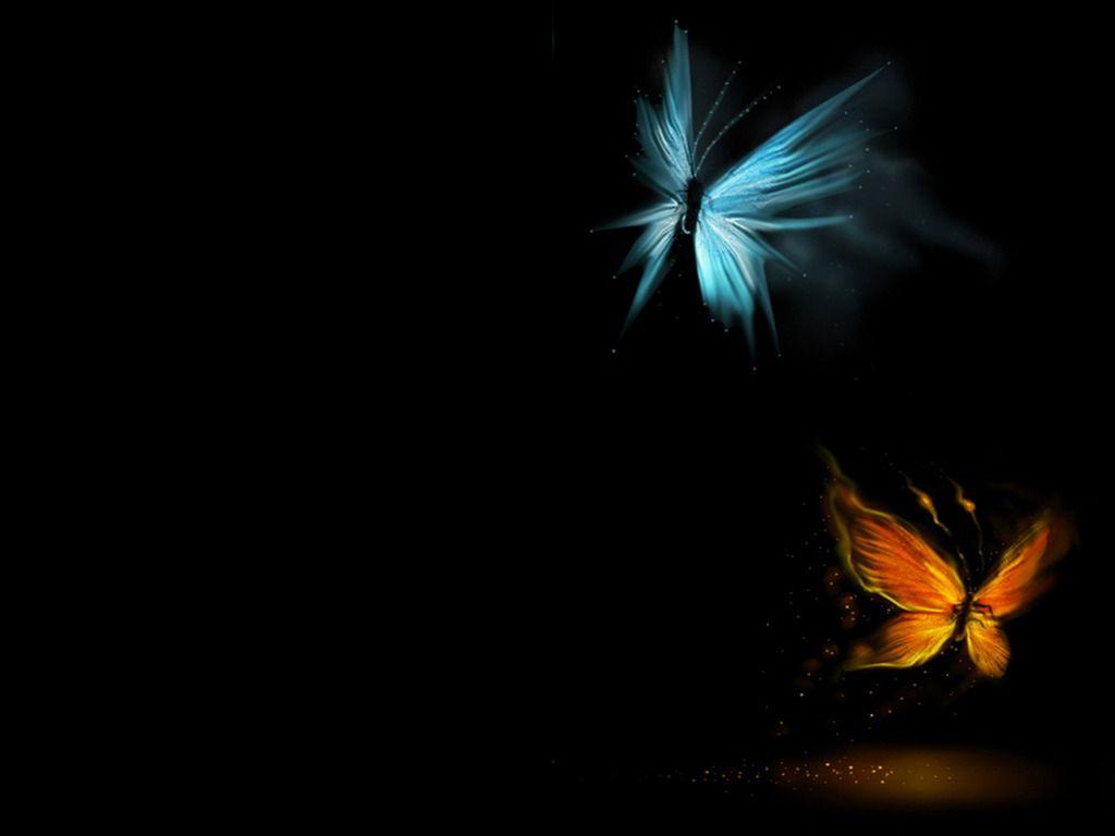 3D Butterfly Desktop Wallpapers 1024x768