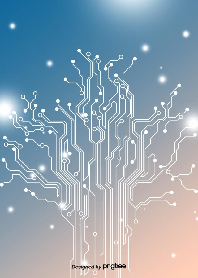 Gradual Background Of Business Light Emitting Circuits Luminous 640x897