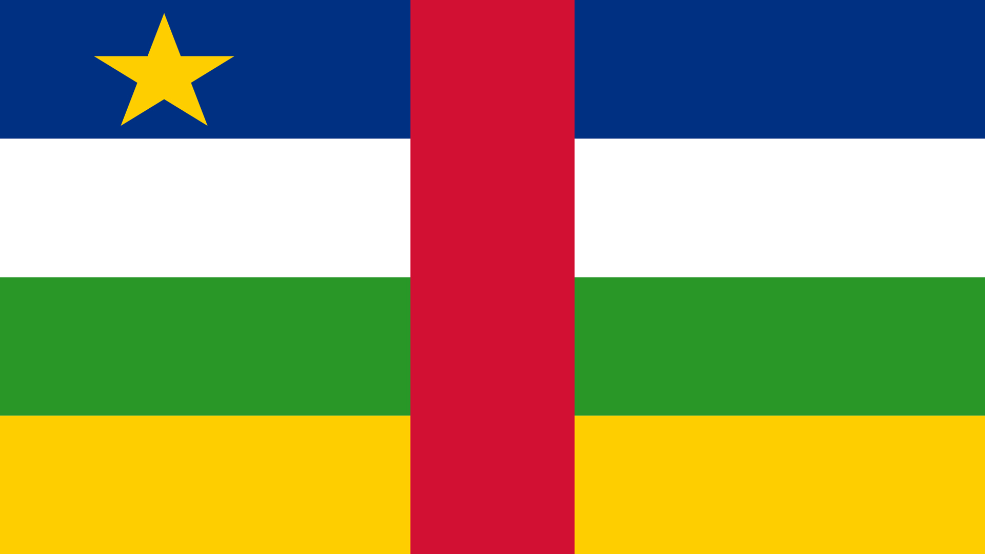 Central African Republic Flag   Wallpaper High Definition High 1920x1080