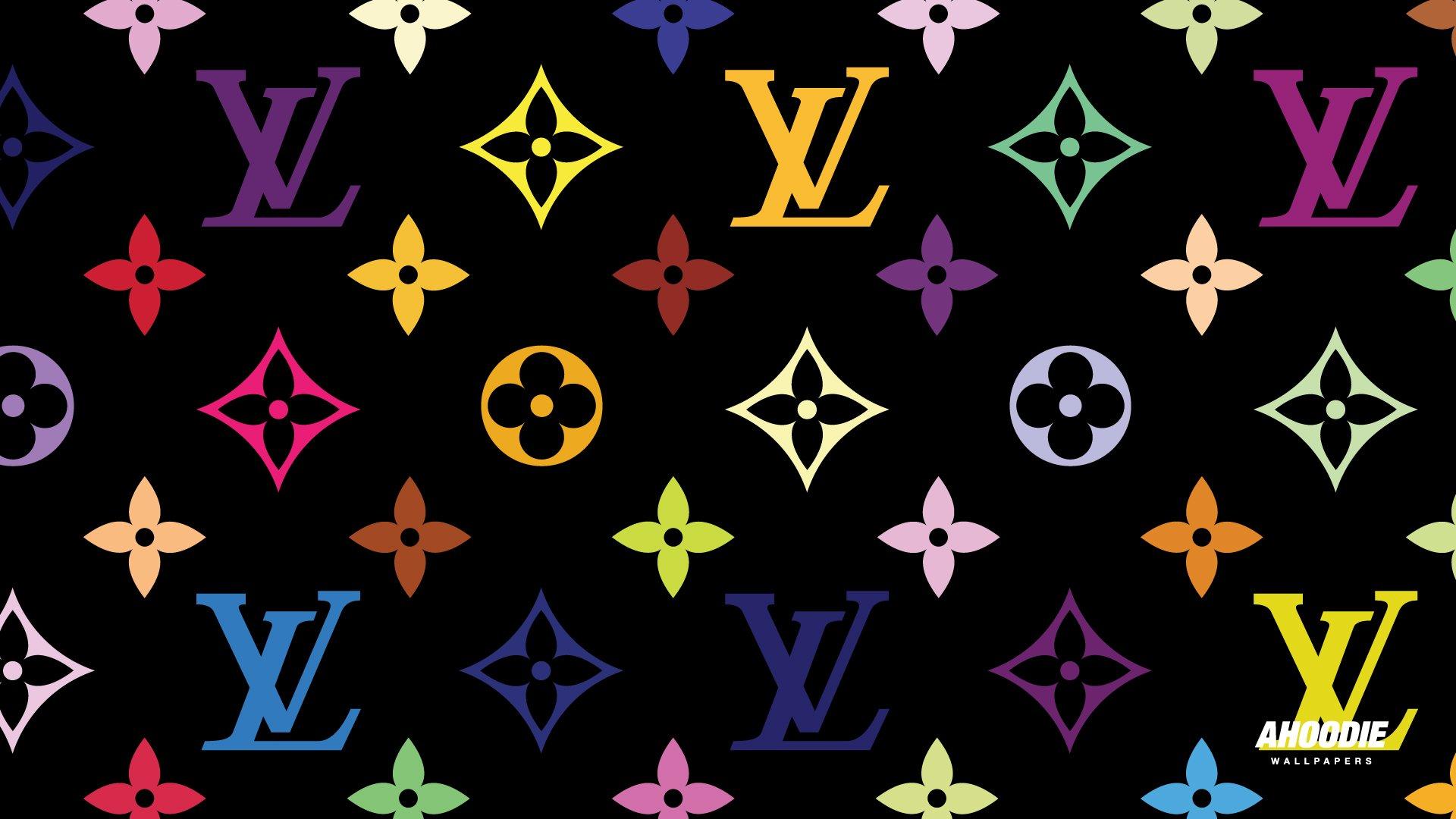 Louis Vuitton Logo Pink