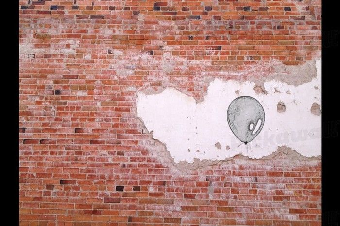 Brick and Balloon Wallpaper Removable Wallpaper for sale in Richmond 700x467