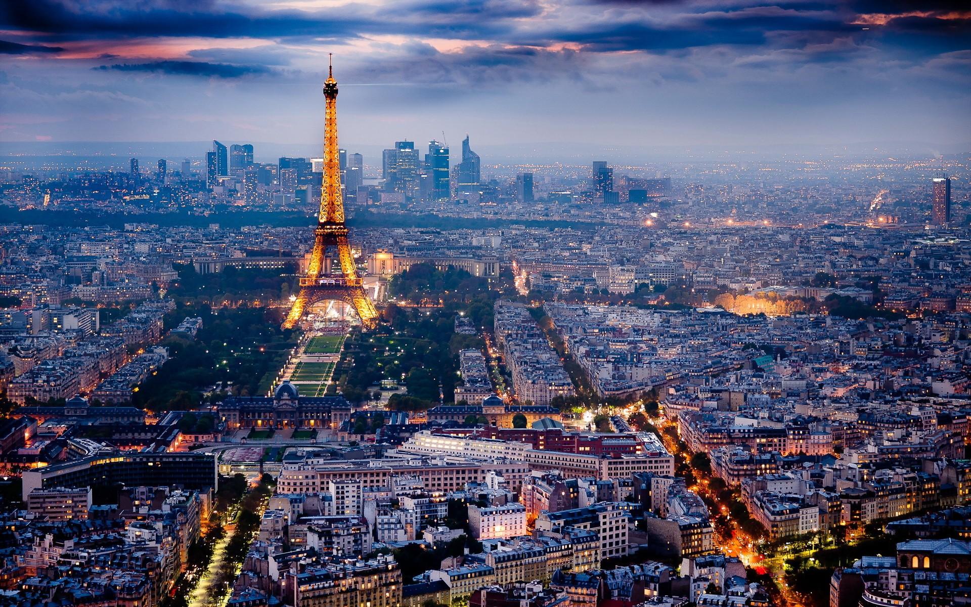 paris cityscape   Desktop Wallpaper 1920x1200