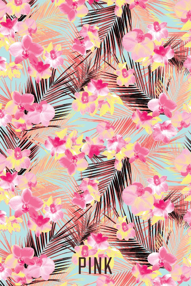 Victoria secret PINK wallpaper HeadersWallpapers Pinterest 640x960
