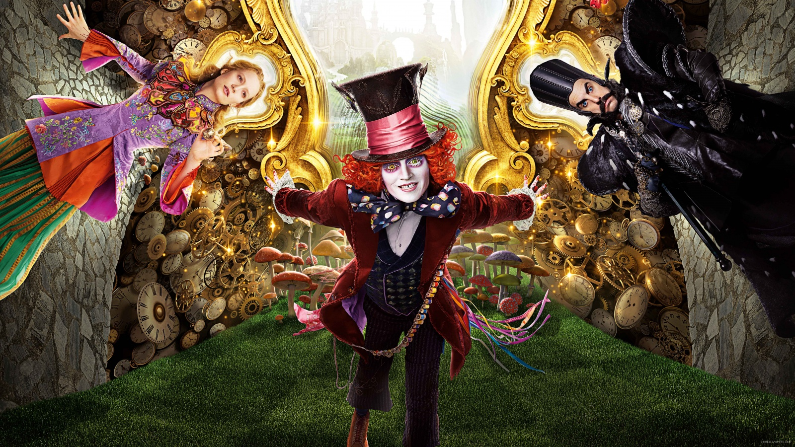 Alice Through the Looking Glass HD Wallpaper   iHD Wallpapers 1600x900