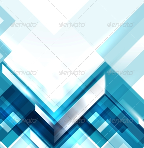 Blue Modern Geometric Abstract Background   Backgrounds Decorative 590x609