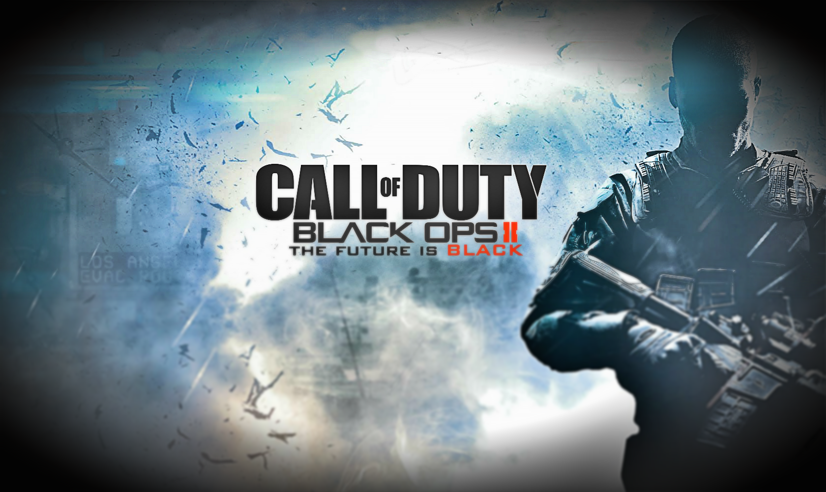 Black Ops 2 Inverted Colours Wallpaper 1680x1000