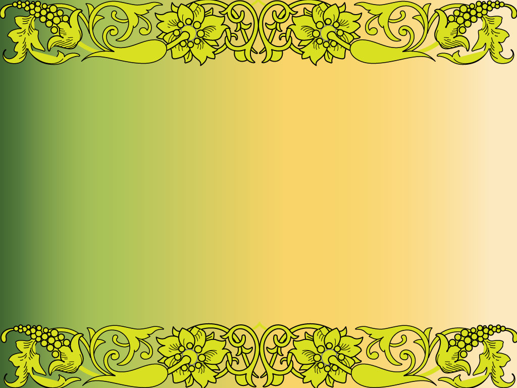 Nature Border Backgrounds For PowerPoint   Border and Frame PPT 1024x768