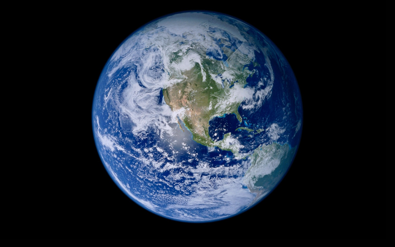 NASA releases Blue Marble 2012 a stunning high definition image of 1680x1050