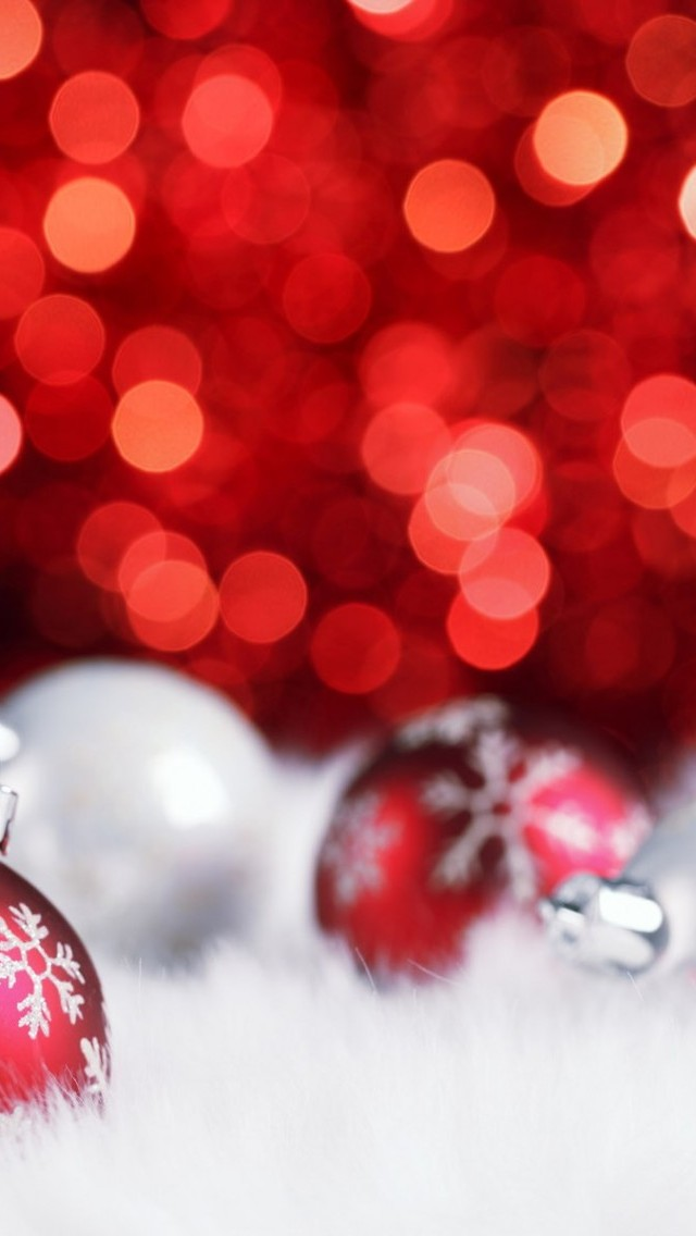 iPhone Smartphone Download HD Christmas Wallpapers 640x1136