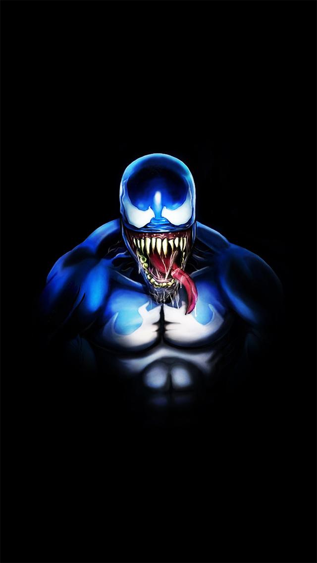 marvel venom iphone wallpaper tags comics digital illustration marvel 640x1136
