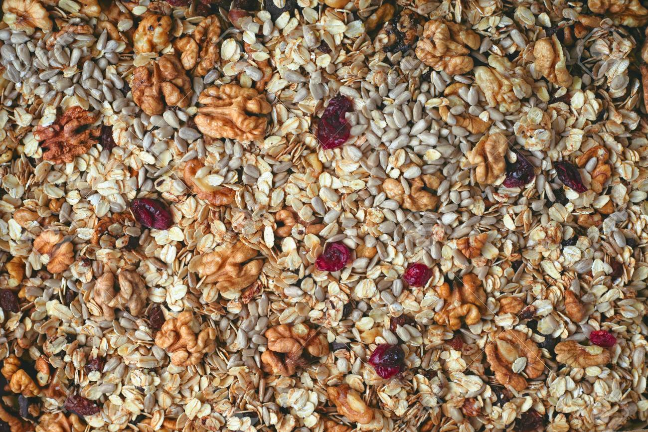 Granola Background Close up Stock Photo Picture And Royalty 1300x867