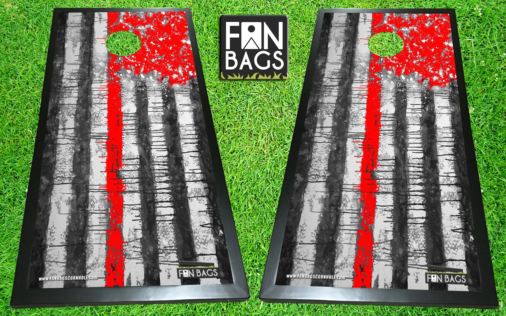 Firefighter cornhole boards Direct print HD images 1680x1050