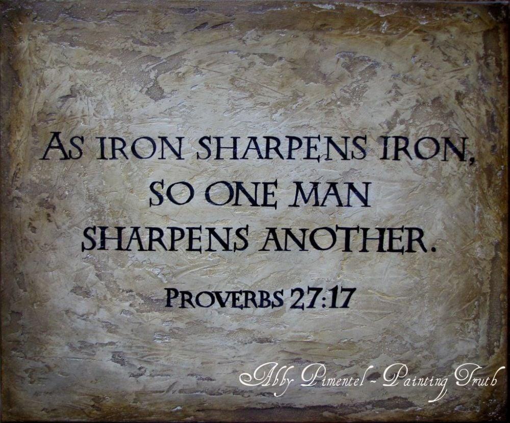 Iron Sharpens Iron Wallpaper Wallpapersafari